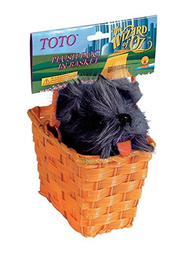 Basket with Toto -