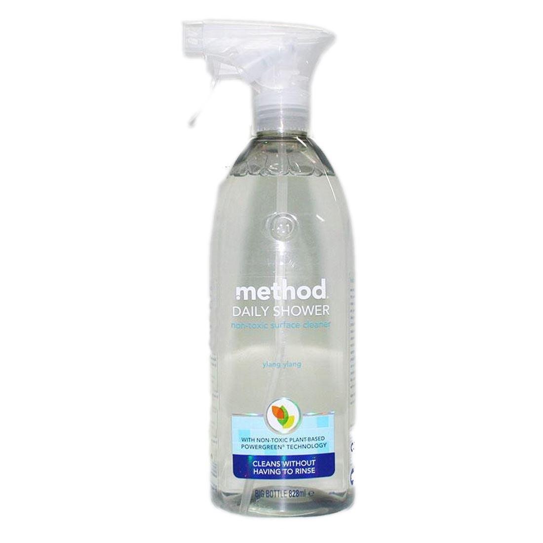 Method Daily Shower Spray detergente per superficie della doccia, 828ml Grocery