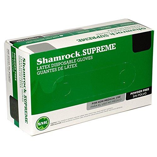 Shamrock 60502-M-cs Work, Cheap No Powder, Thin, ,Rubber, Medium, Natural by Shamrock