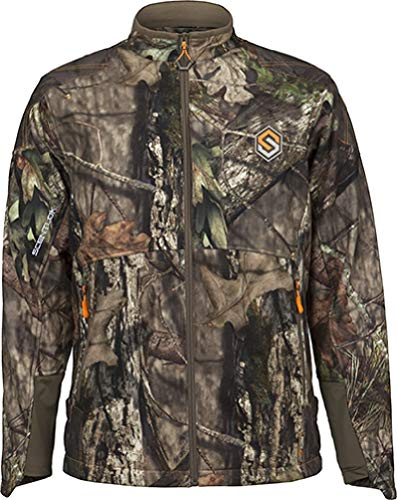 ScentLok Men's Full Season TAKTIX Hunting Jacket, Mossy Oak Break-Up Country, XL