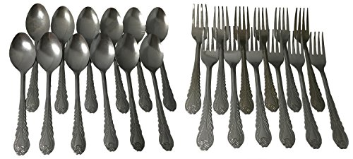 Piece Flatware Set Spoons Forks product image