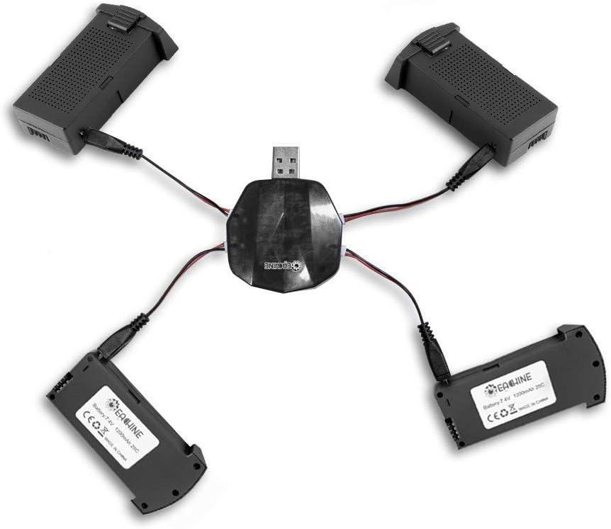 Cargador 3 en 1 con baterías EACHINE E520 RC Drone