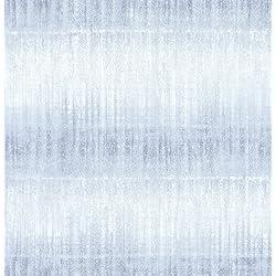 NuWallpaper NU2082 Vista Peel & Stick Wallpaper, Blue