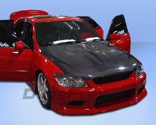 Duraflex Replacement for 2000-2005 Lexus is Series IS300 4DR C-1 Front Bumper Cover - 1 Piece ()