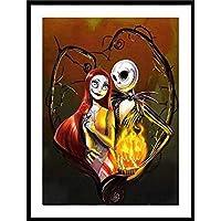 SODIAL 5D Diy Diamond Painting Embroidery Cartoon Cross Stitch Wall Painting Halloween Decoration
