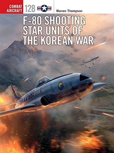 F-80 Shooting Star Units of the Korean War (Combat Aircraft Book 128)