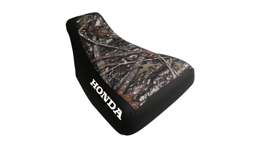 Honda Rancher 350 2001-06 Camo Top Logo Seat Cover 18Jan20