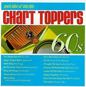 Chart Toppers: Rock Hits of the 60's by Various Artists (1998-05-26) (Chart Toppers Rock Hits Of The 60s)