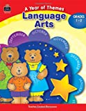 A Year of Themes - Language Arts, Grades 1-2, Sarah Clark, 0743937147