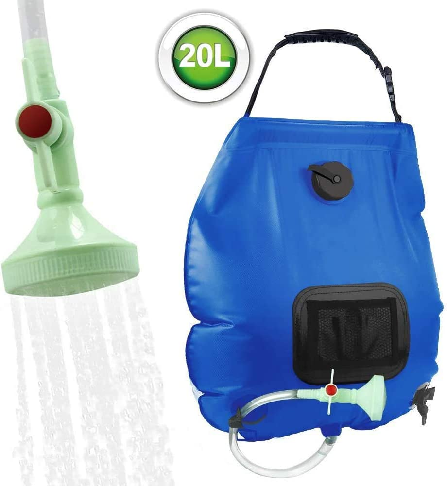 Camping Solar Shower Bag(On-Off Switchable)