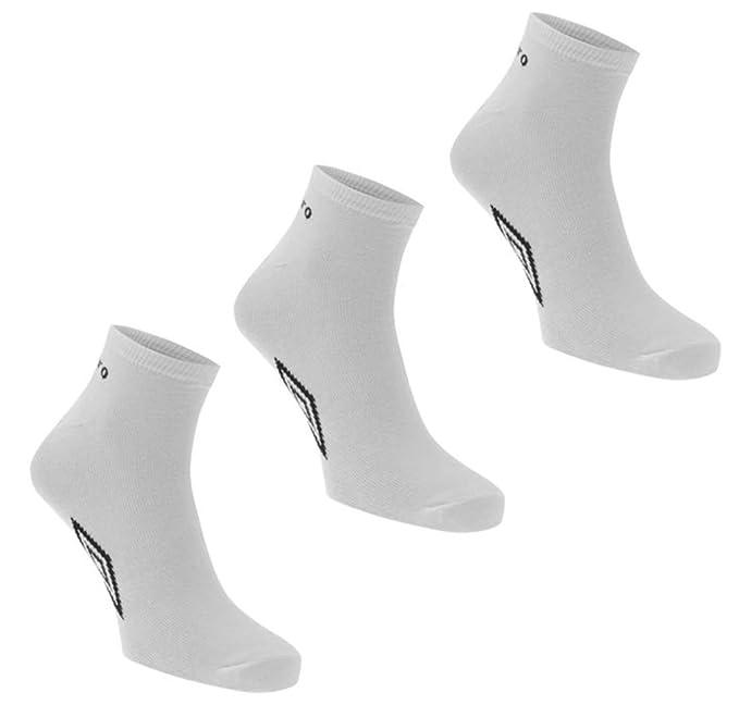 Umbro - Calcetines cortos - para hombre Blanco blanco 39/45UE 6/11UK