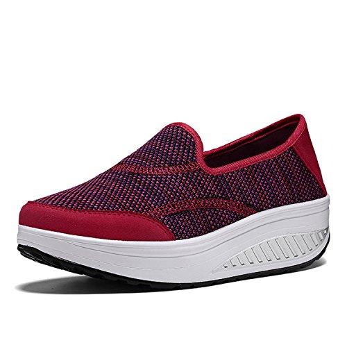 cheap Baqijian Handmade Weave Shoes Women Casual Shoes Women Slip On Fabric Shoes Zapatos Mujer
