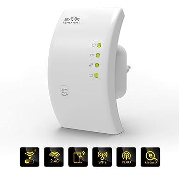 WIFI Repetidor MECO Wi-Fi Repetidor de Red WiFi Rango Extensor Repetidor Inalámbrico 300 Mbps