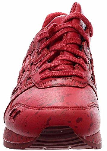 ASICS Herren GEL-Lyte III Retro Sneaker Klassischer roter Splatter
