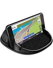 Car Phone Holder Dashboard Non-Slip, Hand Free Anti Slip Car Phone Mounts,Car Phone Mount Silicone Car Pad Mat for iPhone 11 pro max Xs Max XR X 8 7 Samsung Galaxy Note 10 Plus S9 S8, and More