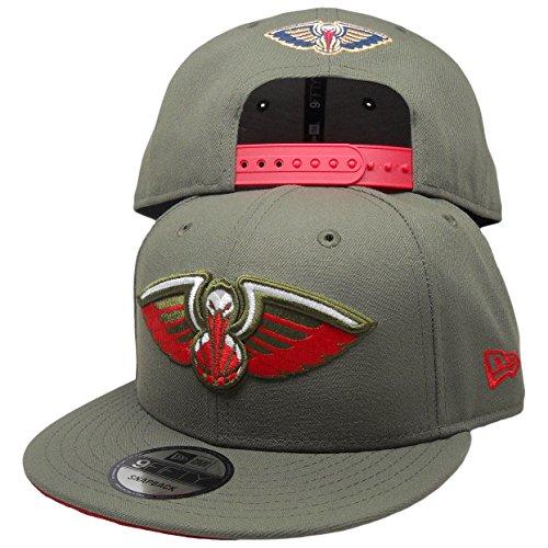 New Orleans Pelicans New Era Custom 9Fifty Snapback Hat to match Air Jordan 5 Camo