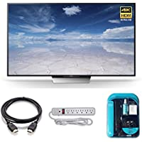 2016 Model XBR85X850D Series X850D Class 85 4K TV Bundle Includes, 4K HDMI 2.0 Cable, Surge Protector