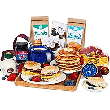 Image result for Christmas Morning Breakfast Gift Basket