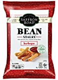 Saffron Road Bean Stalks, Barbeque, 3.5 Ounce (Pack of 12)
