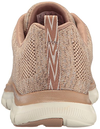 da Skechers Energy Donna Ginnastica Flex High 2 Appeal Scarpe Natural 0 Taupe A0ZrqAB