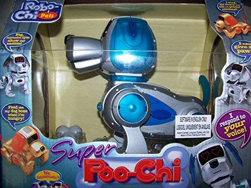 Robo-Chi Pets Super Poo-Chi 2000 Interactive Dog By Tiger Electronics