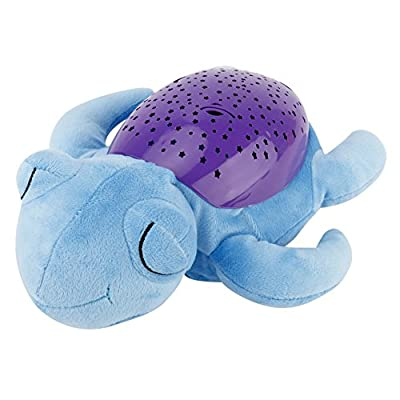Tracfy LED Plush Stuffed Animal Toys Projector Baby Sleep Night Light Soothers Music Sky Star Lamp Toys For Baby Kids