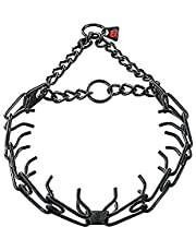 """Sprenger Black Stainless Steel 2.25mm Pinch / Prong Collar Fits up to 14"""" Neck"""