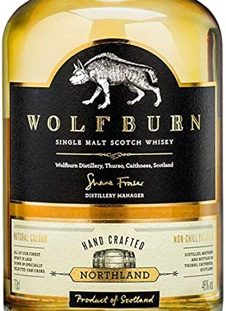 Wolfburn First General Release Single Malt Scotch Whisky - 700 ml