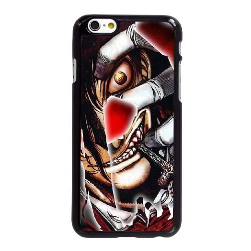 I7J34 Hellsing Alucard Sourire W9B4QB coque iPhone 6 4.7 pouces cas de couverture de téléphone portable coque noire FM8PMI2JN