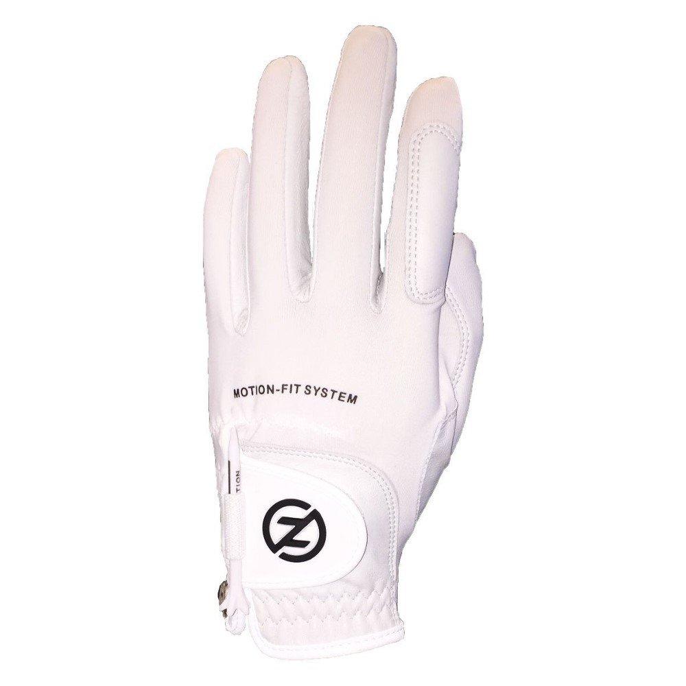 3新しいゼロ摩擦モーションフィットメンズRight HandedゴルフグローブOSFAホワイト   B076FCSHQ5
