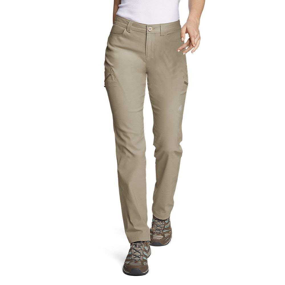 Eddie Bauer Women's Guide Pro Pants, Lt Khaki Tall 18 by Eddie Bauer