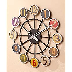 License Plate Wall Clock
