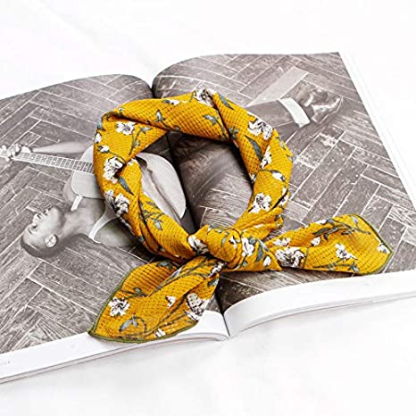 Women Scarf Office Business Hotel Square Wraps Scarves Kerchief Neck Scarf Moda
