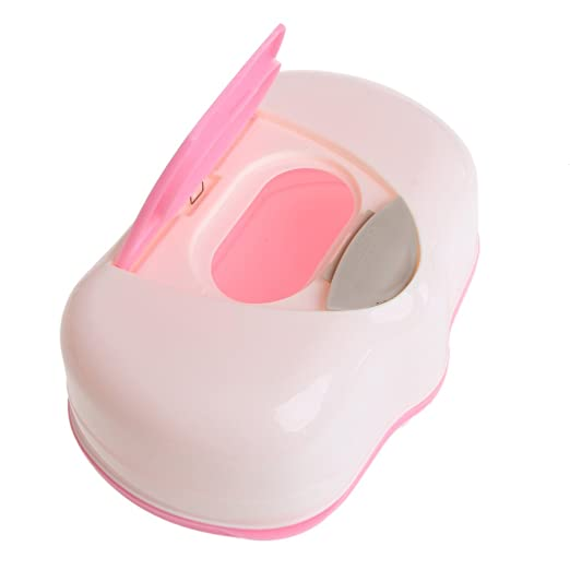SimpleLife Caja de Almacenamiento de pañuelos de plástico Toallitas húmedas Caja de Almacenamiento Caja de Almacenamiento en el hogar Accesorios para ...
