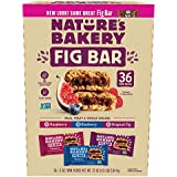 Nature's Bakery Fig Bar, Variety Pack, 2 oz, 36-count
