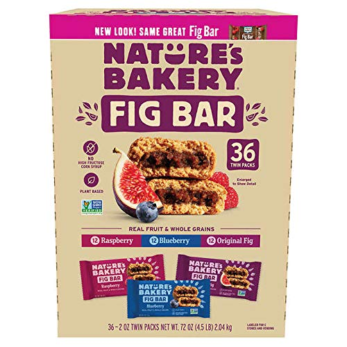 Nature's Bakery Fig Bar, Variety Pack, 2 oz, 36-count by Nature's Bakery FB