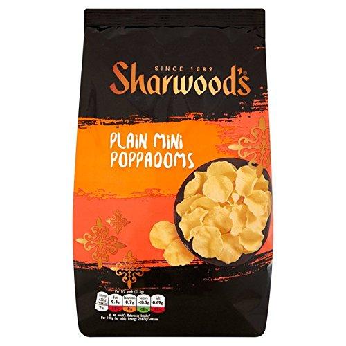 Sharwoods Plain Poppadoms 55g
