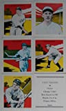 1933 Tatoo Orbit Baseball Series 60 Card Reprint Set, One of the More Unusual Sets Ever Made. Included in This Set Are Jimmy Foxx, Al Simmons, Dizzy Dean, Connie Mack, Rogers Hornsby, Mickey Cochrane, Lefty Grove, Gabby Hartnett, Burleigh Grimes, Babe Herman, Paul Waner and Others.