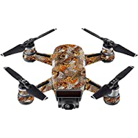 Skin For DJI Spark Mini – Pheasant Feathers | MightySkins Protective, Durable, and Unique Vinyl Decal wrap cover | Easy To Apply, Remove, and Change Styles | Made in the USA