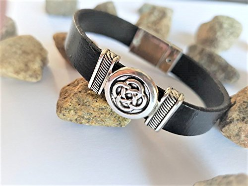 bracelet cuir homme breton