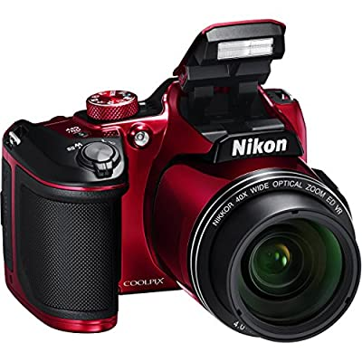 Nikon COOLPIX B500 Digital Camera along with 32GB SDHC Memory Card and Deluxe Accessory Bundle with Cleaning Kit by Nikom