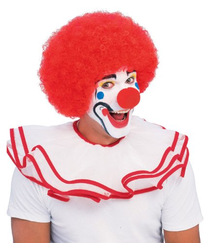 Rubie's Popular Price Classic Clown Wig, Red, One