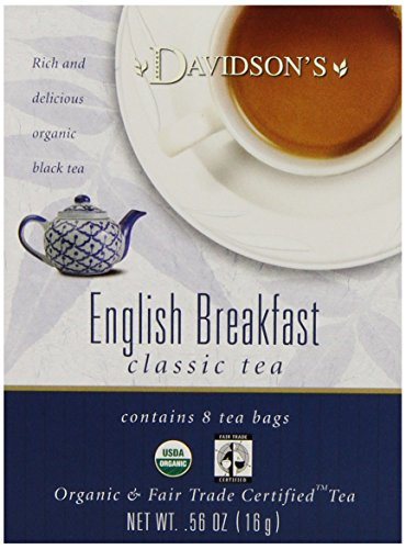 Davidson's Tea English Breakfast, 8-Count Tea Bags (Pack of 12)