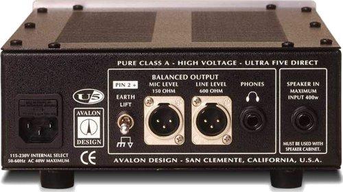 Avalon U5 Pure Class A Mono Instrument DI-Preamplifier Silver by Avalon (Image #1)