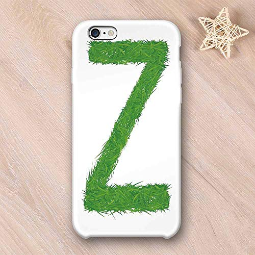 - Letter Z Compatible with iPhone Case,Spring Capital Z Made Out of Grass Ladybug Butterfly Daisy Chamomile Flowers Decorative Compatible with iPhone X,iPhone 6/6s