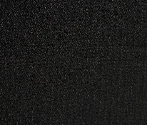 White Stretch Denim Fabric - 2