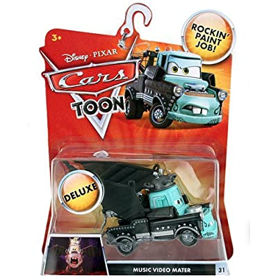 Disney / Pixar CARS TOON 155 Die Cast Car Oversized Vehicle Music Video Mater: Toys & Games