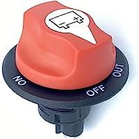 NSTART Interruptor aislador de batería para barco, interruptor de desconexión maestra de batería, encendido/apagado…