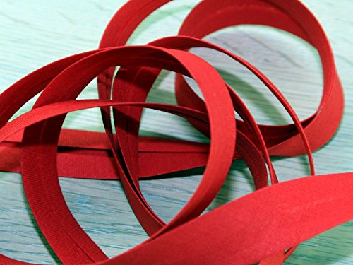 20mm Prym Cotton Bias Binding Tape 3.5m Red - each