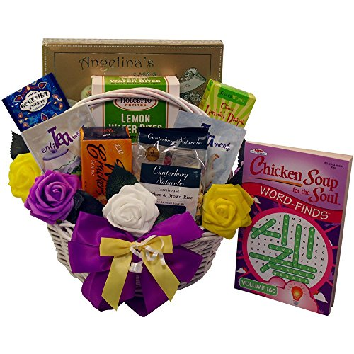 Get Well Soon Gourmet Food Gift Basket (Cheer Gift Basket Ideas)
